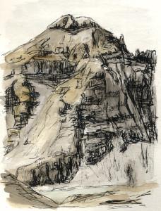 Eli Azurmendi en La Casa de la Montaña 3. Norte Collarada