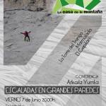 ARKAITZ YURRITA – ESCALADA EN GRANDES PAREDES – VIERNES 7 de JUNIO a las 20.00h
