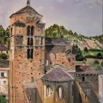 """""""Rincones del Pirineo"""", exposición de las pinturas de Pilar Brabo"""