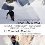 """""""200 años de Soledad: El Sentiemiento de la Montaña"""". Viernes 10 de Octubre. 20.00h. Sebastián Álvaro en La Casa de la Montaña"""