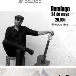 Tritón Jimenez en concierto en La Casa de la Montaña