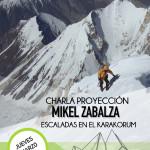 Mikel Zabalza. Jueves 3 de marzo 20.30h
