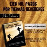 Presentación del libro Cien Mil Pasos por Tierras Bereberes de Jokín Pallarés