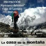 """Proyección: """"Alpinismo delictivo"""" los hermanos Galve en el Valle de Langtang Nepal"""